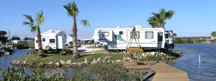 Waterfront Lots for RV Camping in Florida